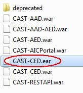 Installing and configuring the legacy CAST Engineering