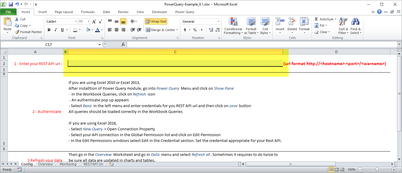 Using CAST AIP data in Excel with Power Query and the RestAPI - CAST
