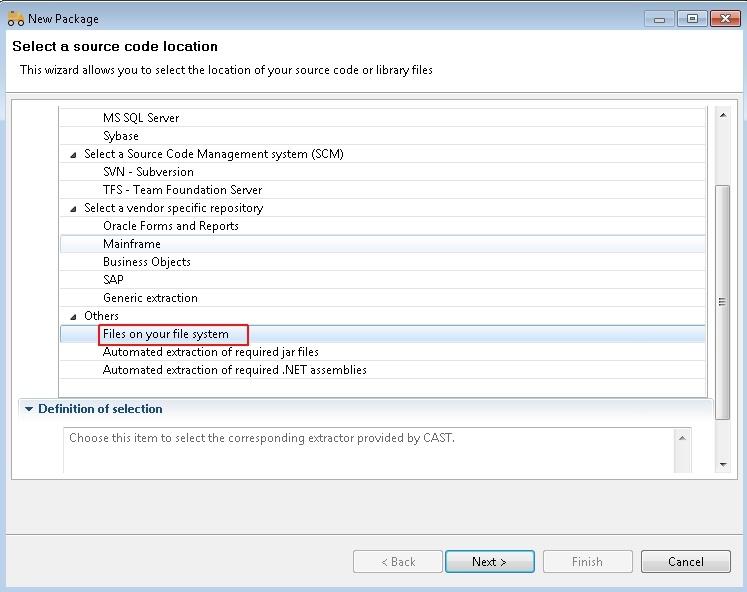 Python 1 0 - CAST AIP Technologies - CAST Documentation