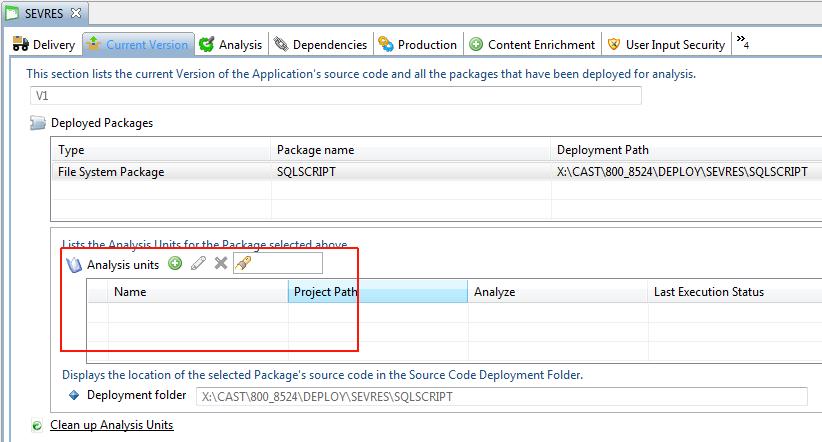 SQL Analyzer - 1 2 - CAST AIP Technologies - CAST Documentation