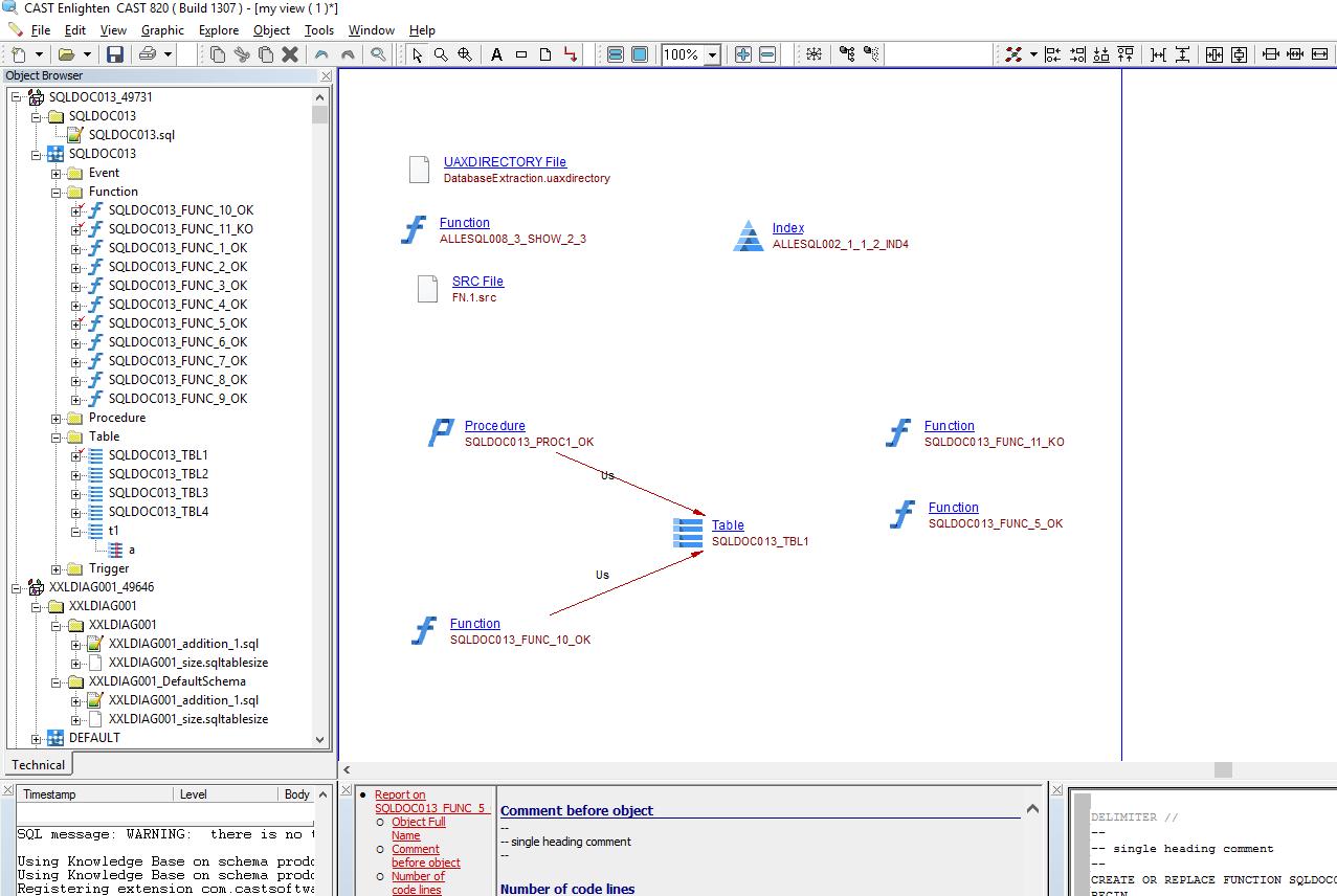 SQL Analyzer - 2 6 - CAST AIP Technologies - CAST Documentation