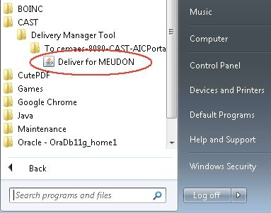How do I download and install the CAST Delivery Manager Tool